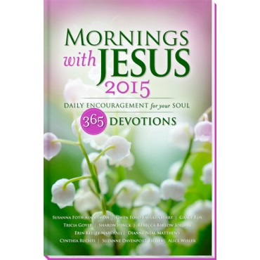 Book Giveaway for Mornings with Jesus 2015