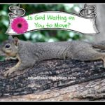 Is God Waiting on You to Move?