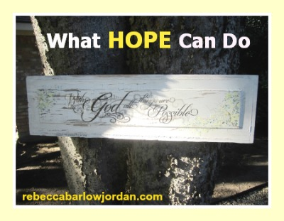 http://www.rebeccabarlowjordan.com/what-hope-can-do